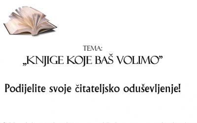 Knjige koje baš volimo