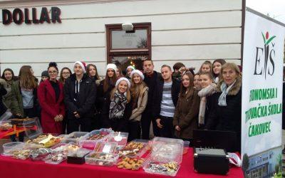 """Slatki božićni darovi ETŠ-a"""