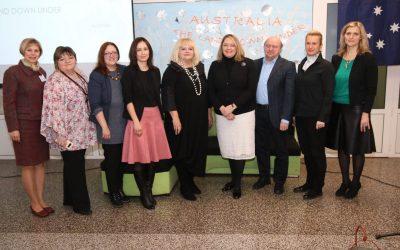 Veleposlanica Australije u Hrvatskoj u posjetu Ekonomskoj i trgovačkoj školi