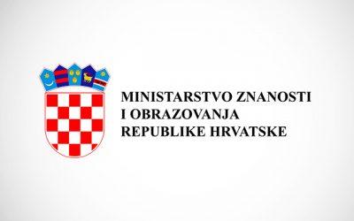 Uputa ministrice znanosti i obrazovanja prof. dr. sc. Blaženke Divjak, vezano uz organizirana putovanja u inozemstvo
