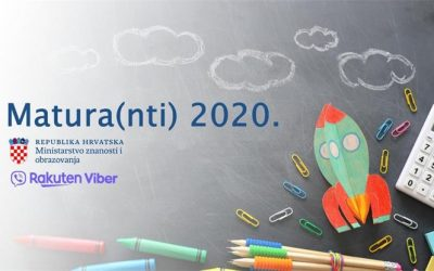 MZO u suradnji s aplikacijom Rakuten Viber uspostavilo neposredni komunikacijski kanal s maturantima