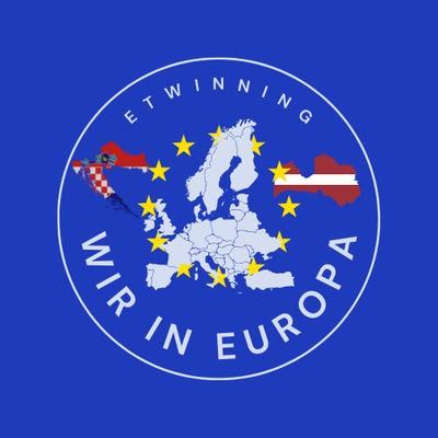 """Još malo njemačkog… e-Twinning projekt """"Wir in Europa"""""""