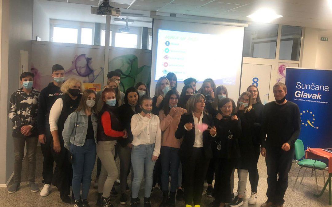 ETŠ u prestižnom društvu Škola ambasadora Europskoga parlamenta